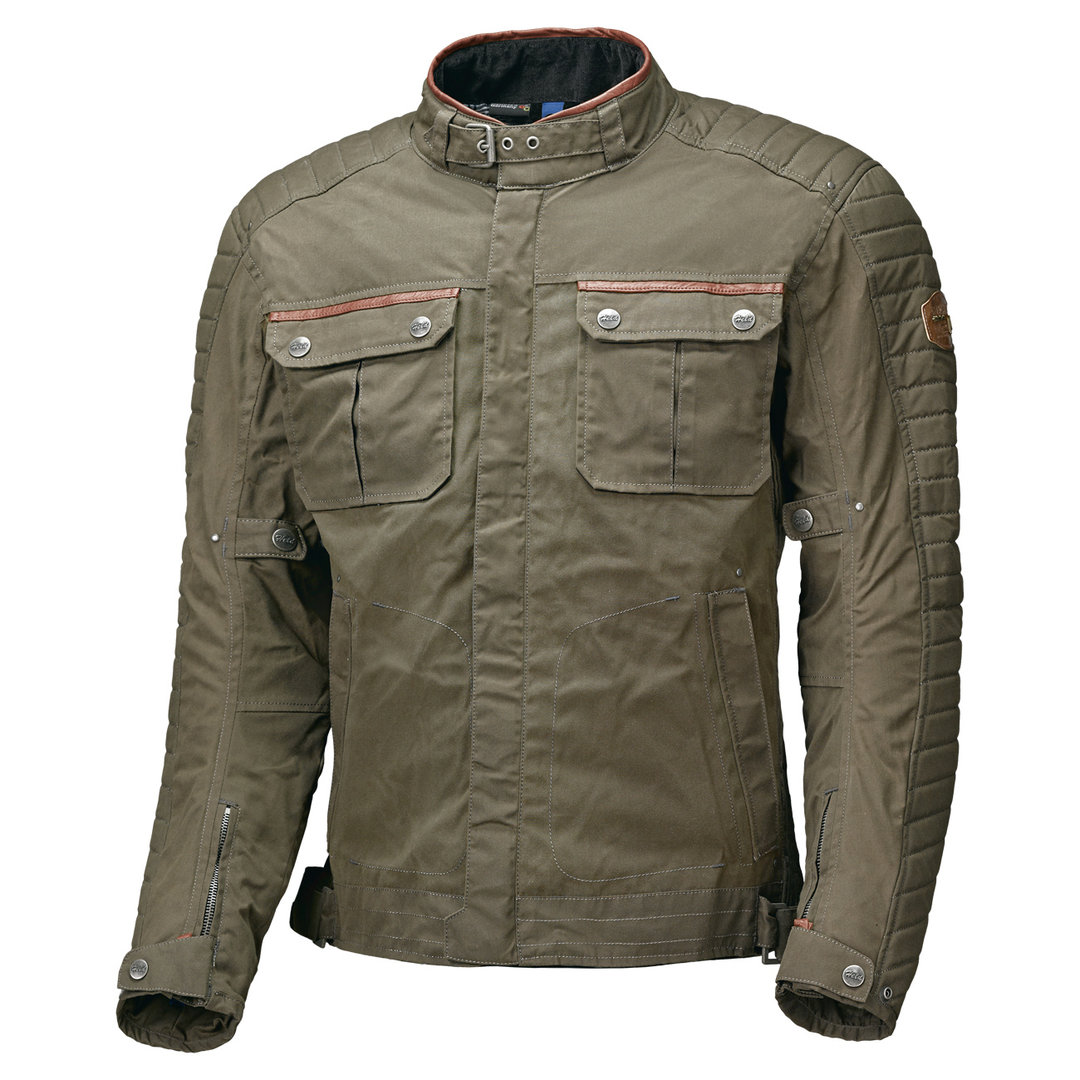 Held Bailey Motorrad Textiljacke, grün-braun, Größe S, grün-braun, Größe S