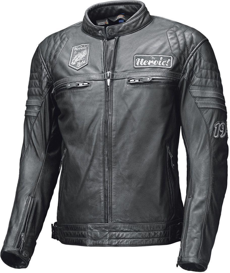 Held Baker Motorrad Lederjacke, schwarz, Größe 58, schwarz, Größe 58