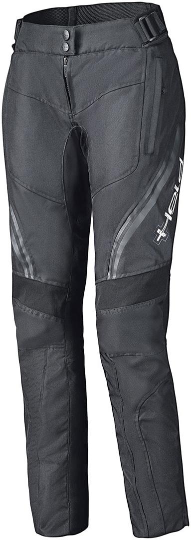 Held Baxley Base Damen Motorrad Textilhose, schwarz, Größe L, schwarz, Größe L