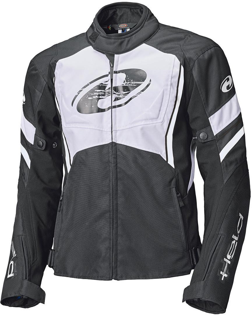 Held Baxley Top Motorrad Textiljacke, schwarz-weiss, Größe 5XL, schwarz-weiss, Größe 5XL
