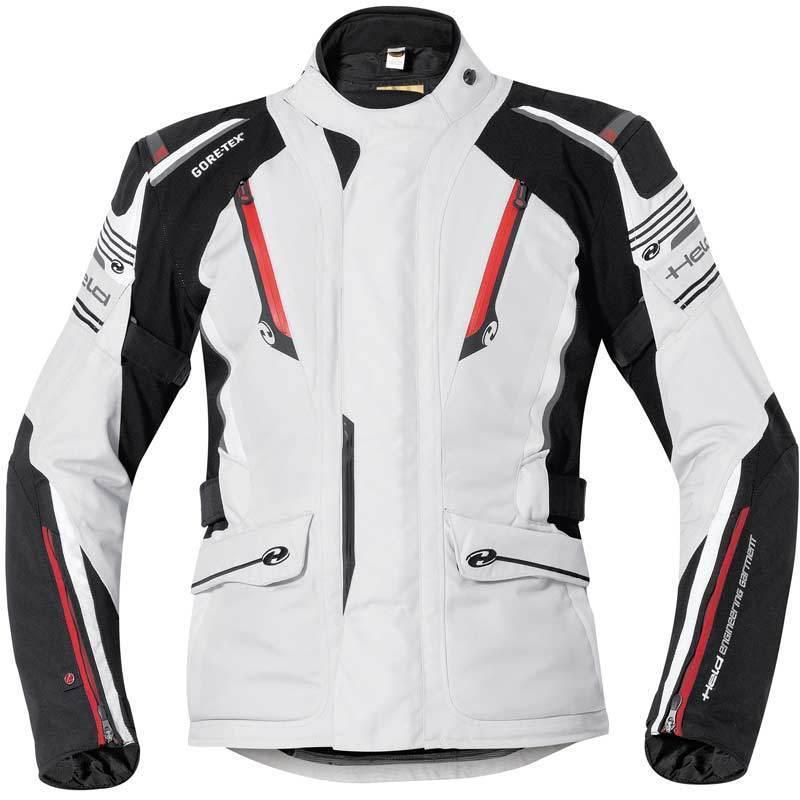 Held Caprino Textiljacke, schwarz-grau, Größe 3XL, schwarz-grau, Größe 3XL
