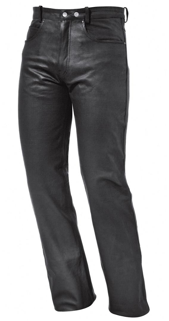 Held Cooper Damen Motorrad Lederhose, schwarz, Größe 46, schwarz, Größe 46