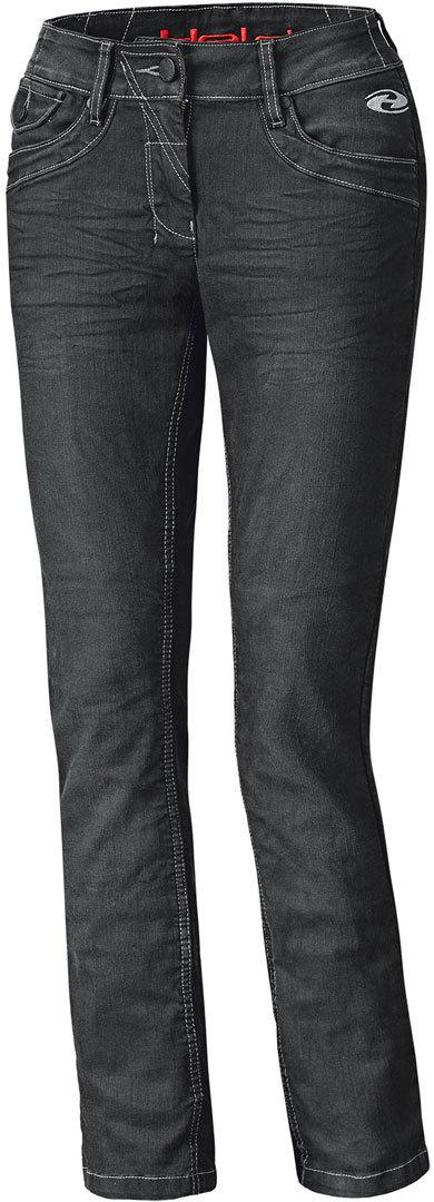 Held Crane Damen Motorrad Jeanshose, schwarz, Größe 36, schwarz, Größe 36