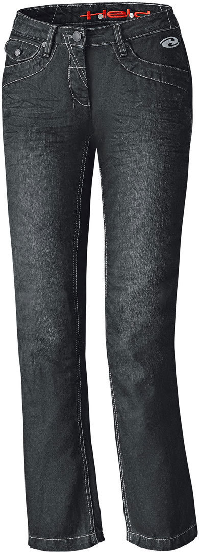 Held Crane Denim Damen Motorrad Jeanshose, schwarz, Größe 29, schwarz, Größe 29