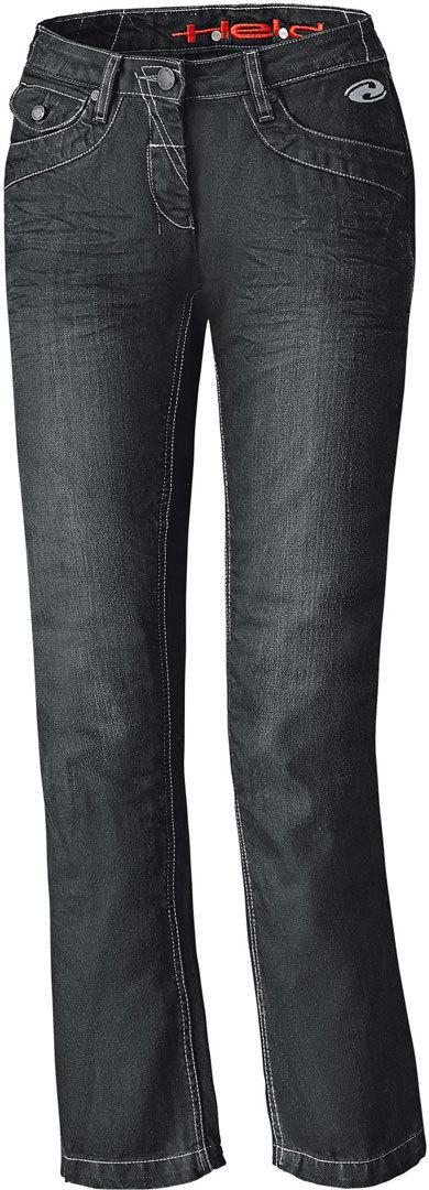 Held Crane Denim Damen Motorrad Jeanshose, schwarz, Größe 33, schwarz, Größe 33
