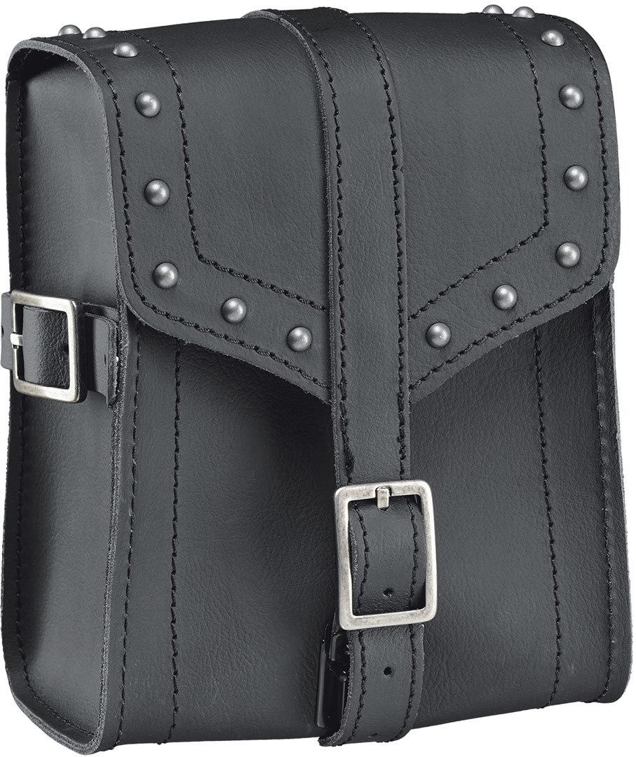 Held Cruiser Sissy Bar Tasche mit Nieten, schwarz, Größe M, schwarz, Größe M