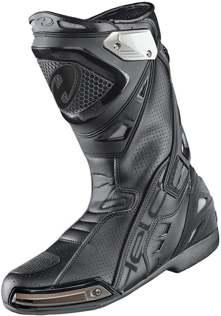 Held Epco II Motorradstiefel, schwarz, Größe 45, schwarz, Größe 45