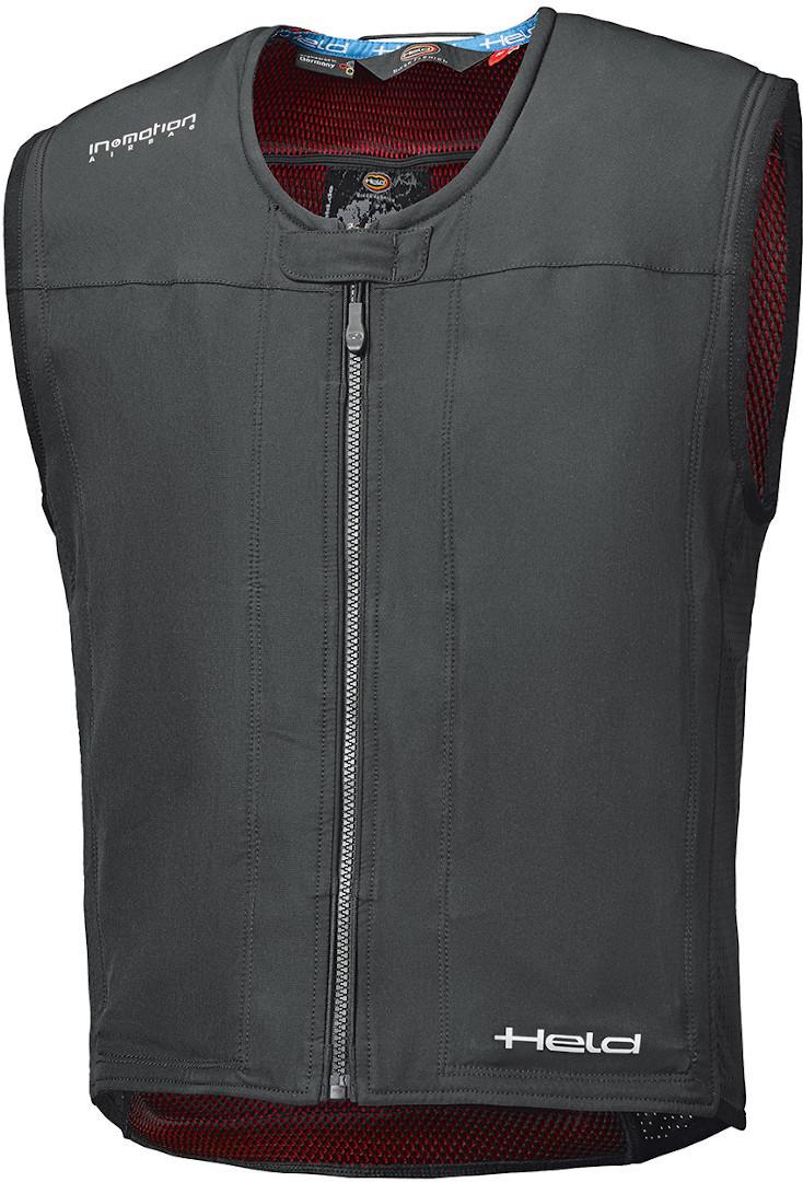 Held eVest Airbag Weste, schwarz, Größe XL, schwarz, Größe XL