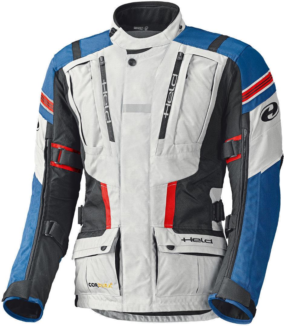 Held Hakuna II Motorrad Textiljacke, grau-blau, Größe 3XL, grau-blau, Größe 3XL