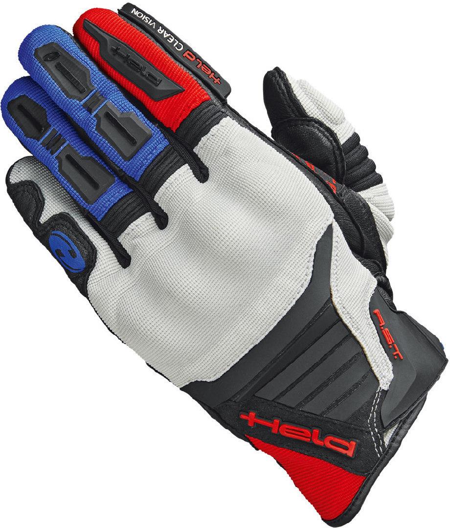 Held Hamada Motocross Handschuhe, rot-blau, Größe M L, rot-blau, Größe M L