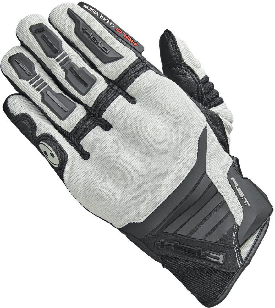Held Hamada Motocross Handschuhe, schwarz-grau, Größe 2XL, schwarz-grau, Größe 2XL