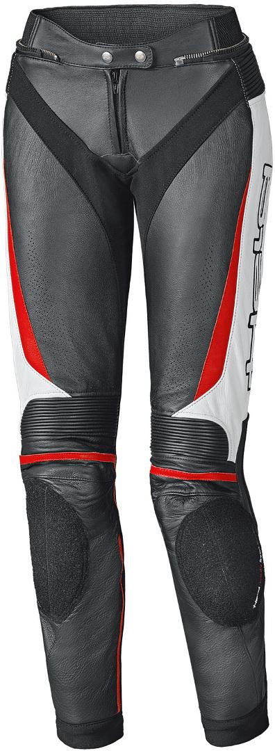 Held Lane II Damen Motorrad Lederhose, schwarz-weiss-rot, Größe 46, schwarz-weiss-rot, Größe 46