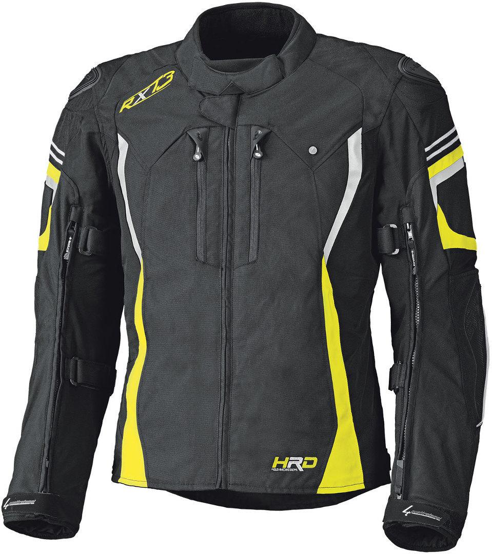 Held Luca GTX Textiljacke, schwarz-gelb, Größe L, schwarz-gelb, Größe L