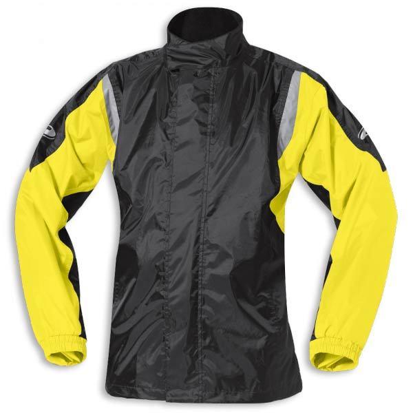 Held Mistral 2 Regenjacke, schwarz-gelb, Größe 4XL, schwarz-gelb, Größe 4XL