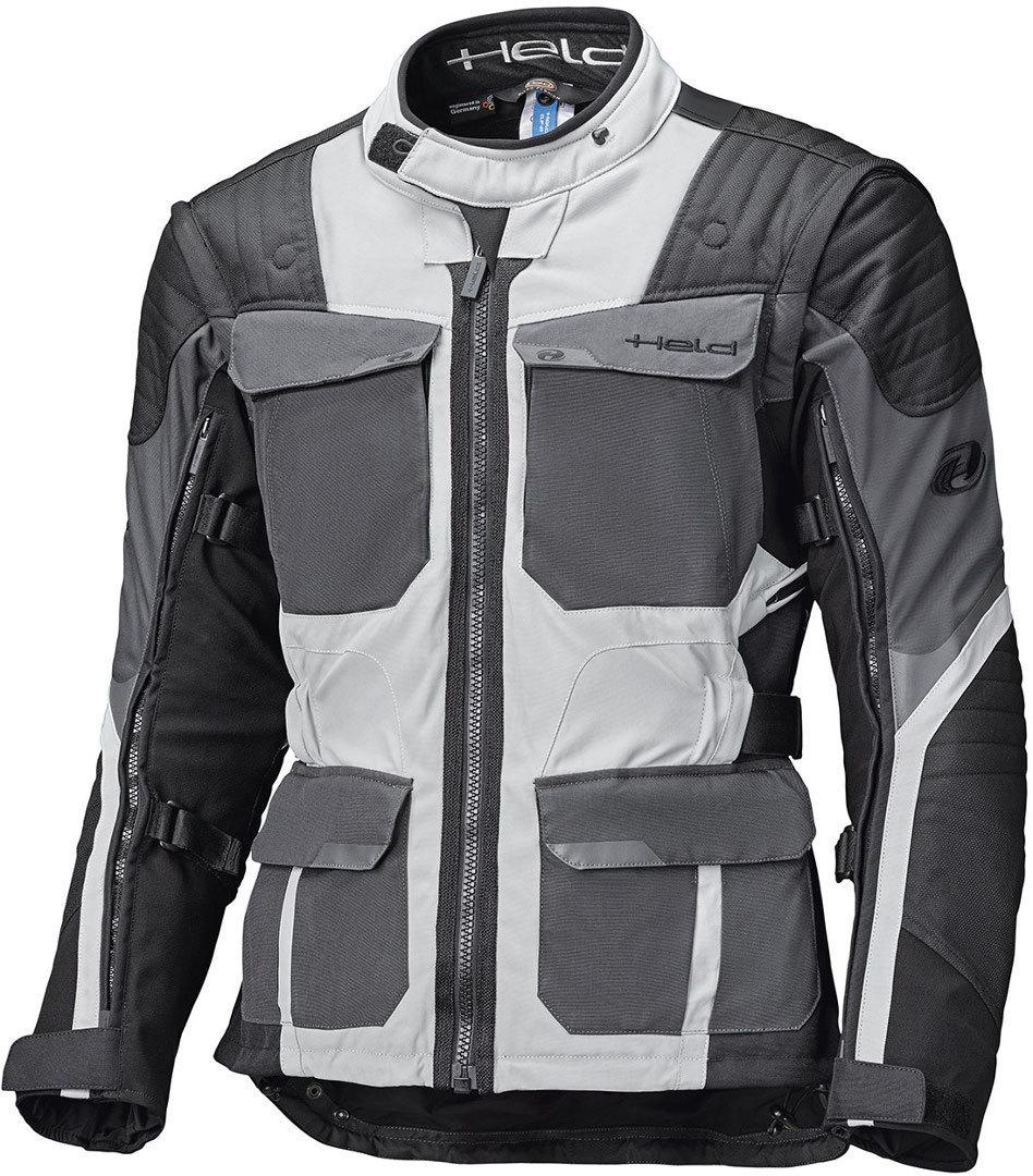 Held Mojave Top Motorrad Textiljacke, schwarz-grau, Größe 3XL, schwarz-grau, Größe 3XL