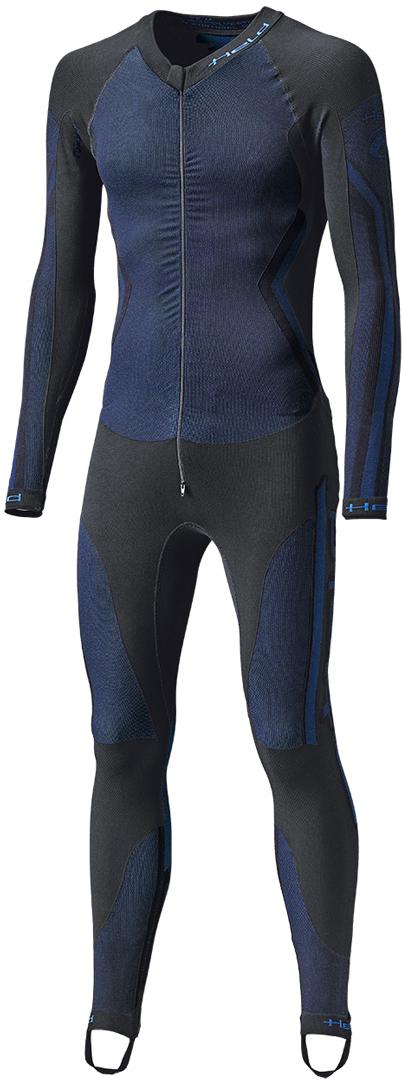Held Race Skin II Unteranzug, schwarz-blau, Größe 2XL, schwarz-blau, Größe 2XL