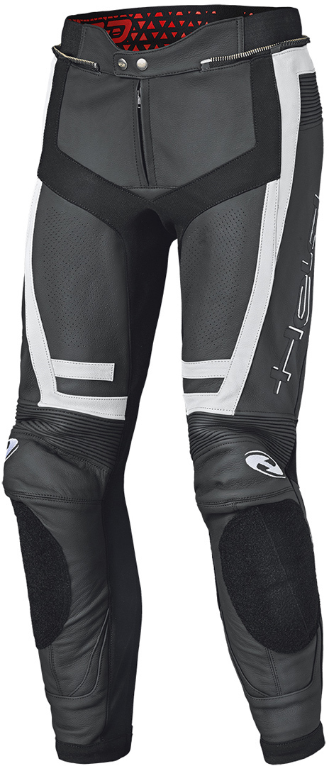 Held Rocket 3.0 Motorrad Lederhose, schwarz-weiss, Größe 50 52, schwarz-weiss, Größe 50 52