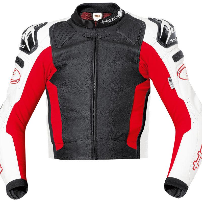 Held Safer Motorrad Lederjacke, schwarz, Größe M, schwarz, Größe M