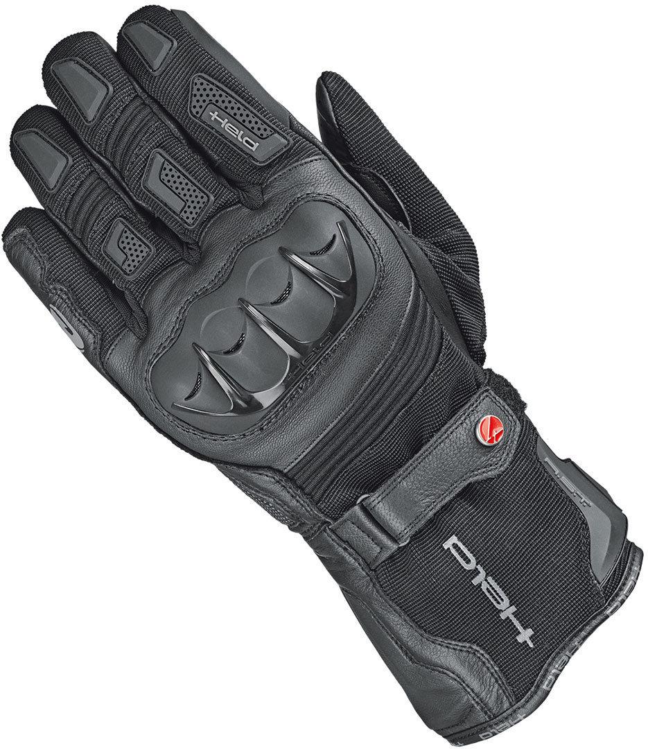 Held Sambia 2in1 Damen Handschuhe, schwarz, Größe S M, schwarz, Größe S M