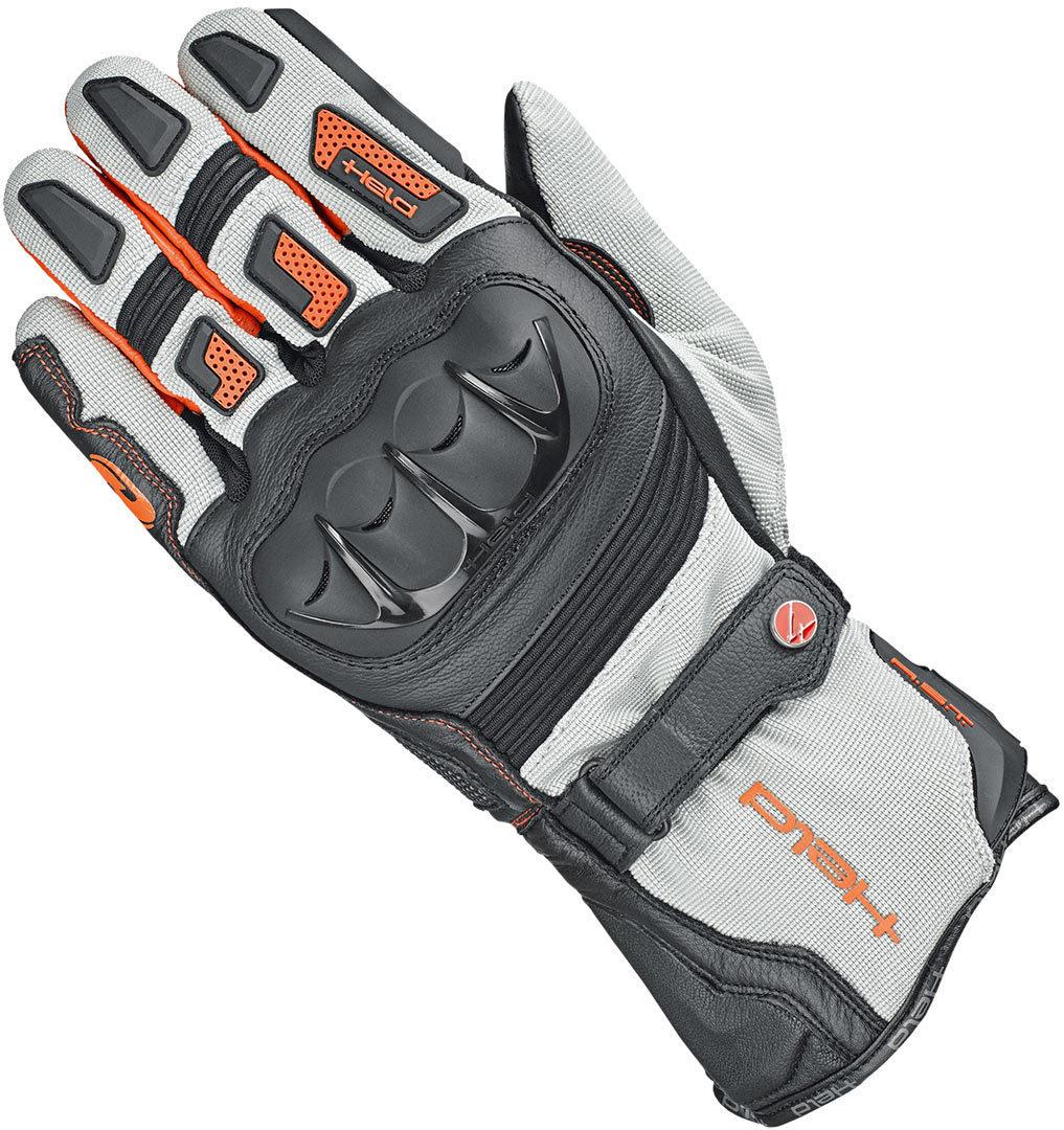 Held Sambia 2in1 Handschuhe, grau-orange, Größe M L, grau-orange, Größe M L