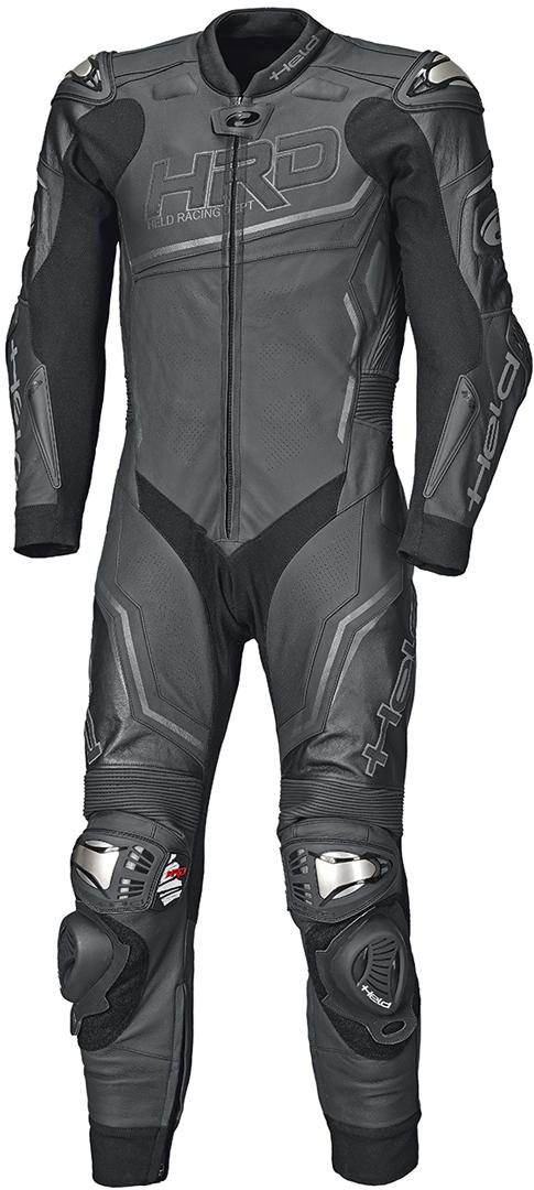 Held Slade II 1-Teiler Motorrad Lederkombi, schwarz, Größe 56, schwarz, Größe 56