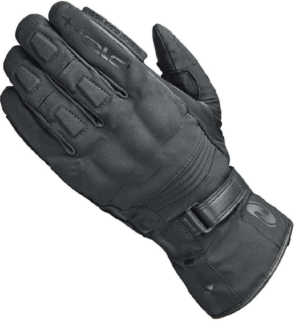 Held Stroke Damen Motorradhandschuhe, schwarz, Größe M L, schwarz, Größe M L