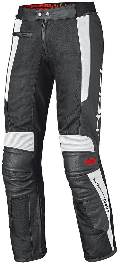 Held Takano II Motorrad Lederhose, schwarz-weiss, Größe 62, schwarz-weiss, Größe 62