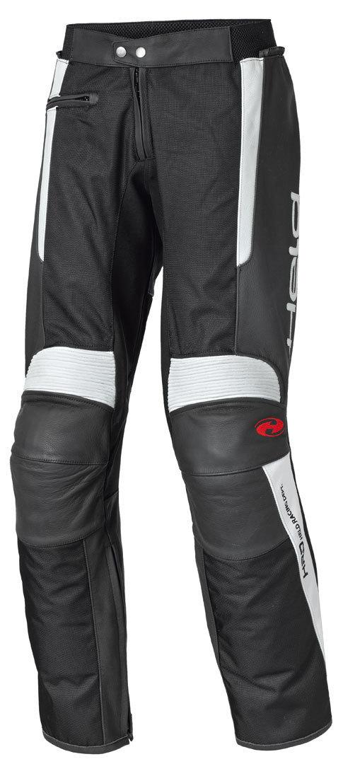 Held Takano Motorrad Leder-/Textilhose, schwarz, Größe 48, schwarz, Größe 48