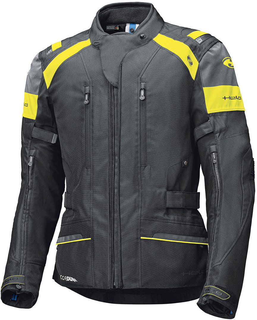 Held Tivola ST Motorrad Textiljacke, schwarz-gelb, Größe 3XL, schwarz-gelb, Größe 3XL