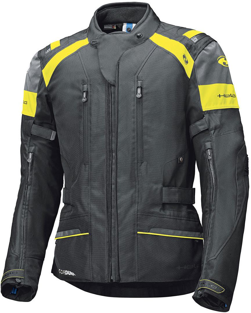 Held Tivola ST Motorrad Textiljacke, schwarz-gelb, Größe 4XL, schwarz-gelb, Größe 4XL