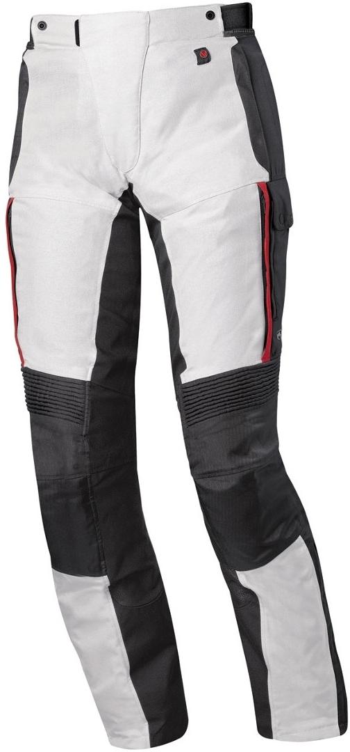 Held Torno II Gore-Tex Motorrad Textilhose, grau-rot, Größe 4XL, grau-rot, Größe 4XL