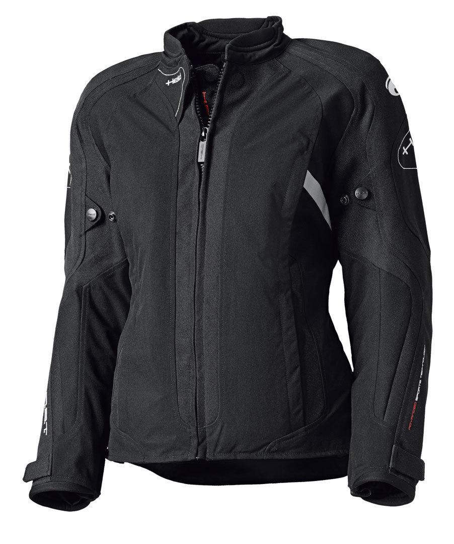 Held Toshi Damen Motorrad Textiljacke, schwarz, Größe S, schwarz, Größe S