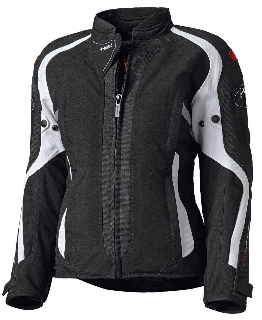 Held Toshi Damen Motorrad Textiljacke, schwarz-weiss, Größe S, schwarz-weiss, Größe S