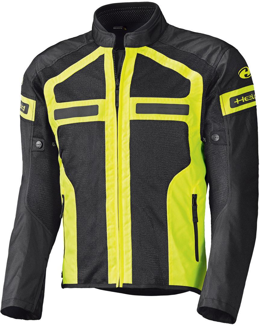 Held Tropic 3.0 Motorrad Textiljacke, schwarz-gelb, Größe 5XL, schwarz-gelb, Größe 5XL
