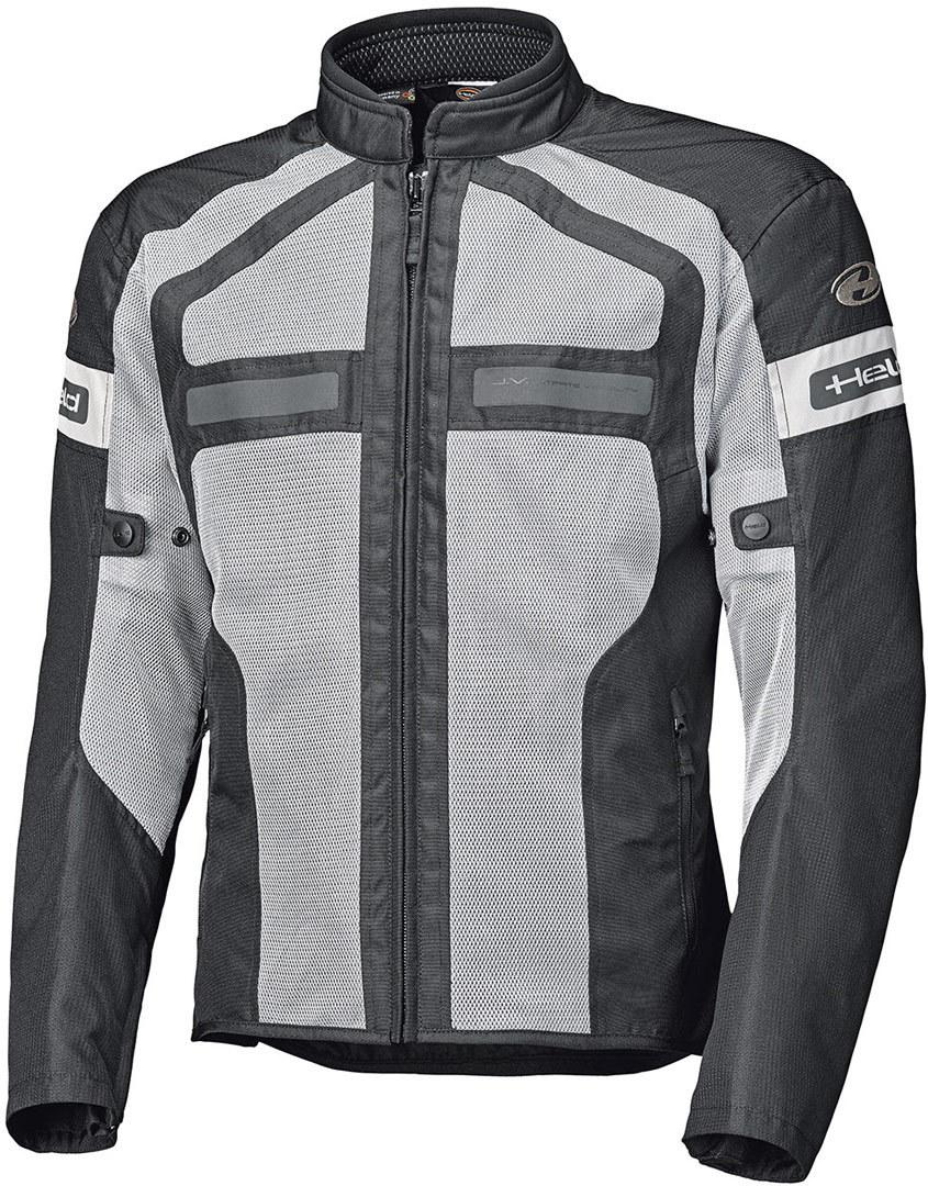 Held Tropic 3.0 Motorrad Textiljacke, schwarz-grau, Größe 2XL, schwarz-grau, Größe 2XL