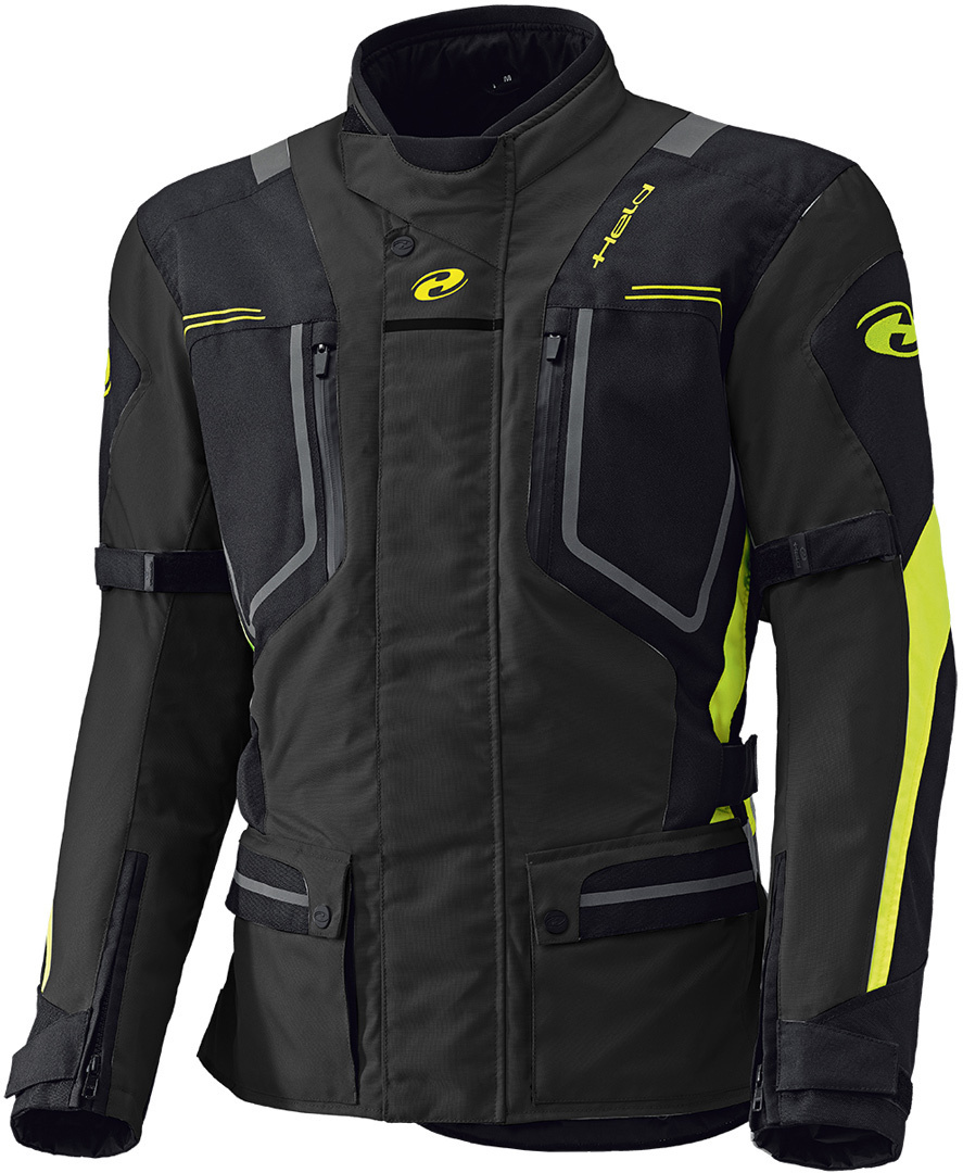 Held Zorro Touring Textiljacke, schwarz-gelb, Größe 2XL, schwarz-gelb, Größe 2XL