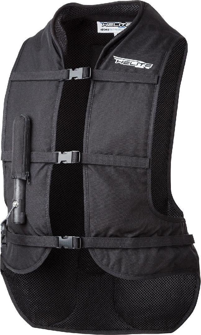Helite Airnest Airbag Weste, schwarz, Größe L, schwarz, Größe L