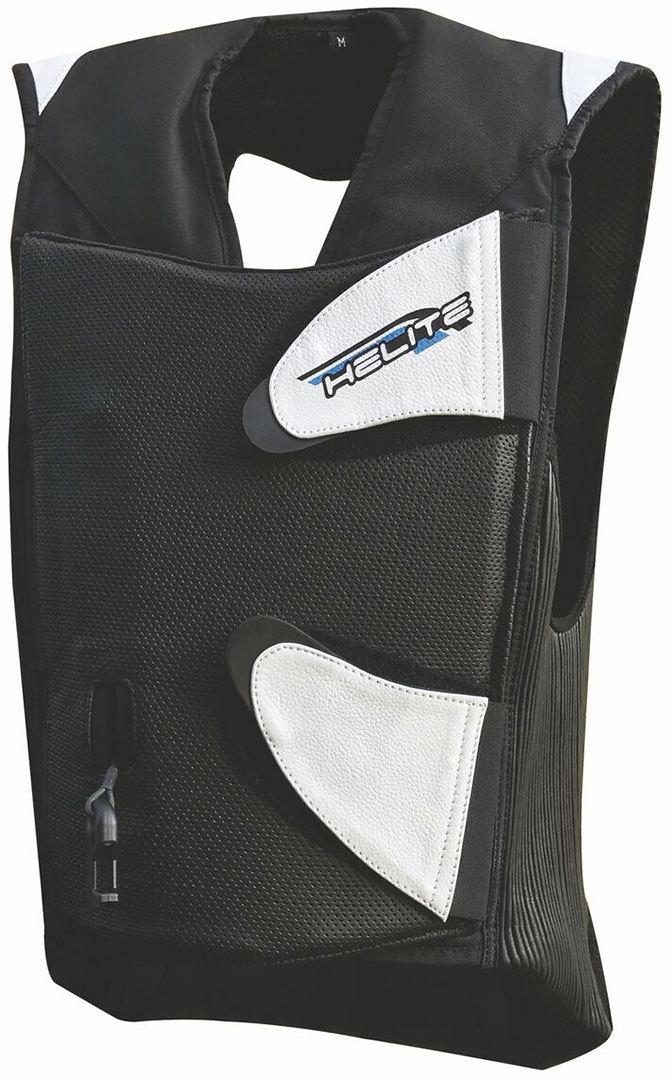Helite GP-AIR 2.0 Racing Airbag Weste, schwarz, Größe S, schwarz, Größe S