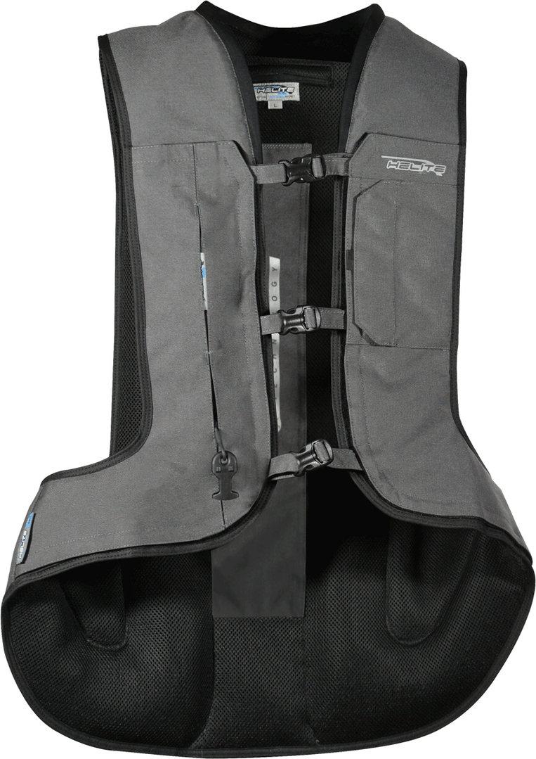 Helite Turtle 2.0 Airbag Weste, grau, Größe XS, grau, Größe XS
