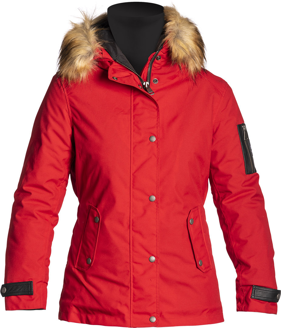 Helstons Artic Damen Motorrad Textiljacke, rot, Größe XL, rot, Größe XL