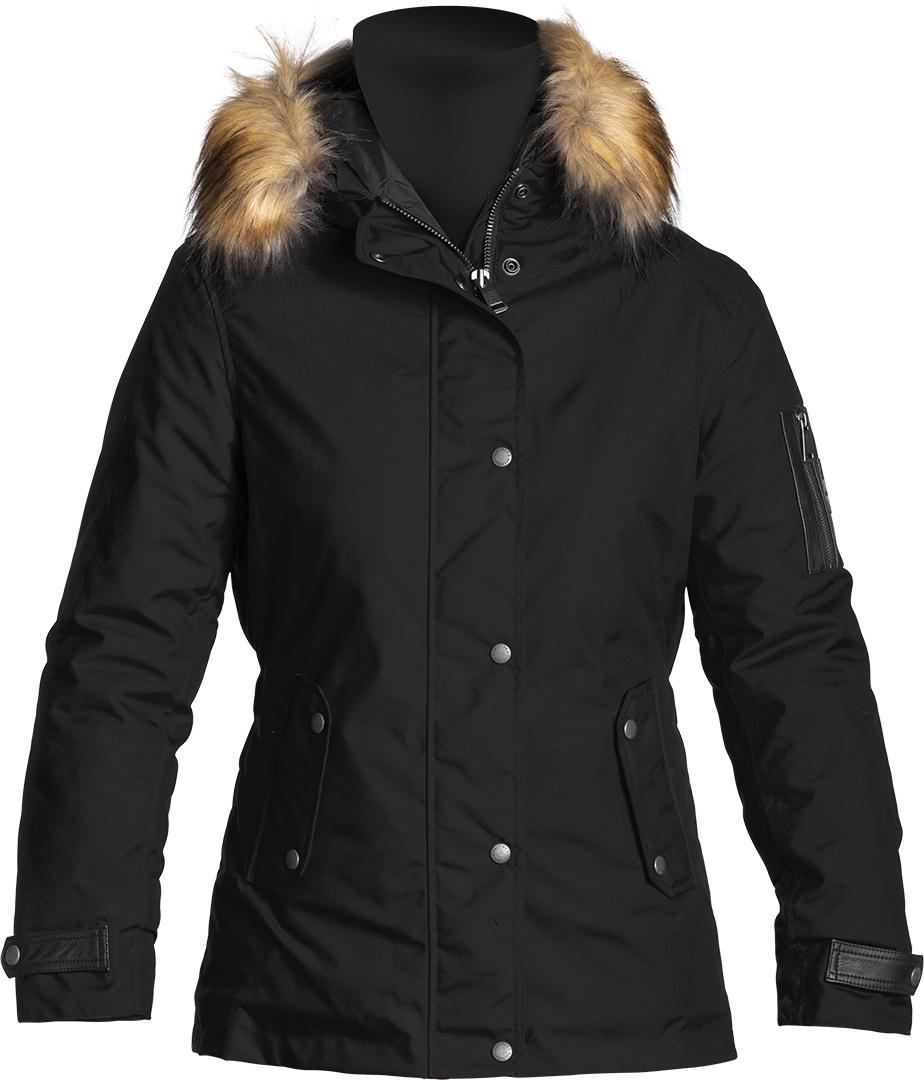 Helstons Artic Damen Motorrad Textiljacke, schwarz, Größe XL, schwarz, Größe XL