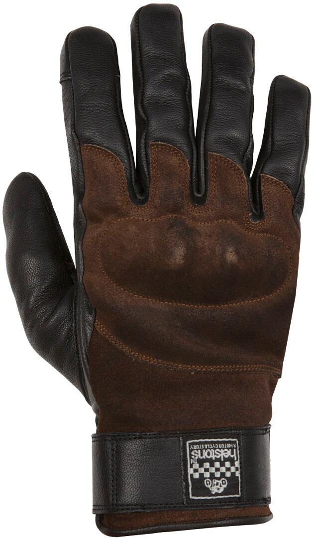 Helstons Glory Motorradhandschuhe, schwarz-braun, Größe 2XL, schwarz-braun, Größe 2XL