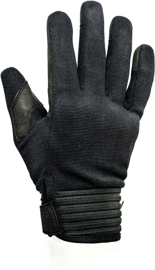Helstons Simple Motorradhandschuhe, schwarz, Größe 2XL, schwarz, Größe 2XL