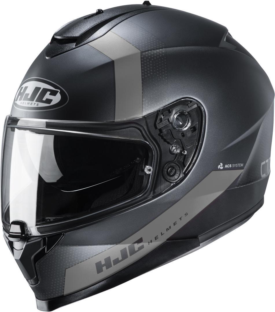 HJC C70 Eura Helm, schwarz-grau, Größe XS, schwarz-grau, Größe XS