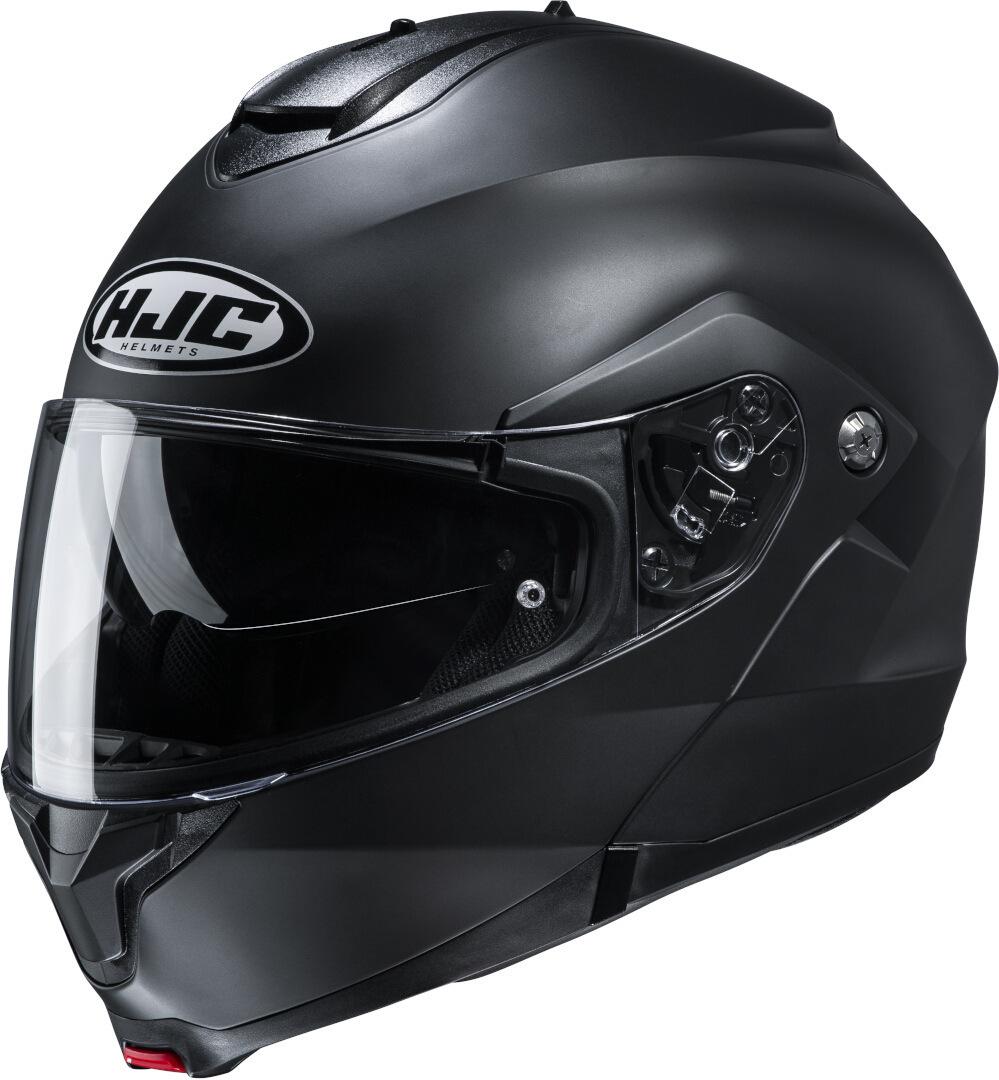 HJC C91 Semi Matt Klapphelm, schwarz, Größe M, schwarz, Größe M