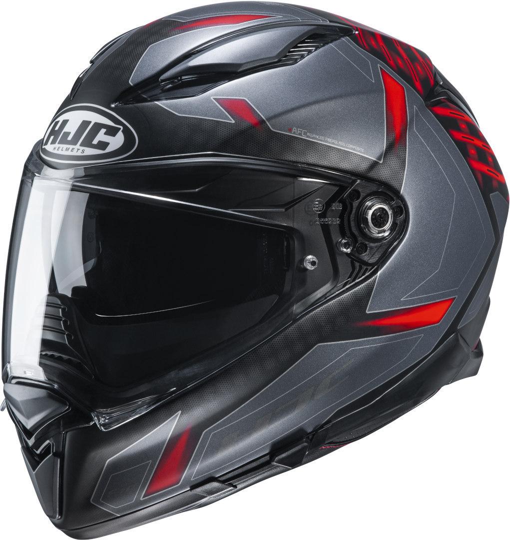 HJC F70 Dever Helm, grau-silber, Größe L, grau-silber, Größe L