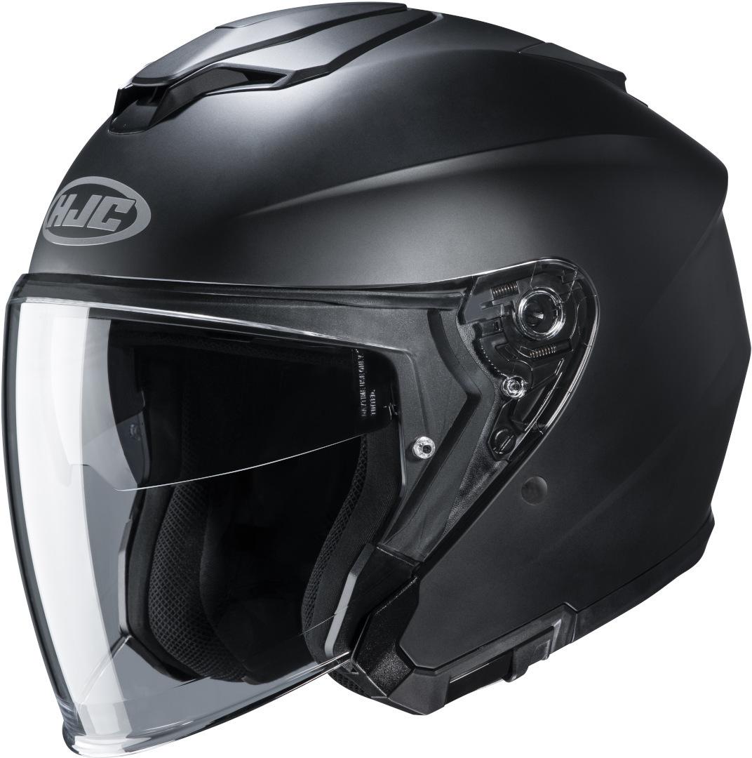 HJC i30 Semi Matt Jethelm, schwarz, Größe S, schwarz, Größe S