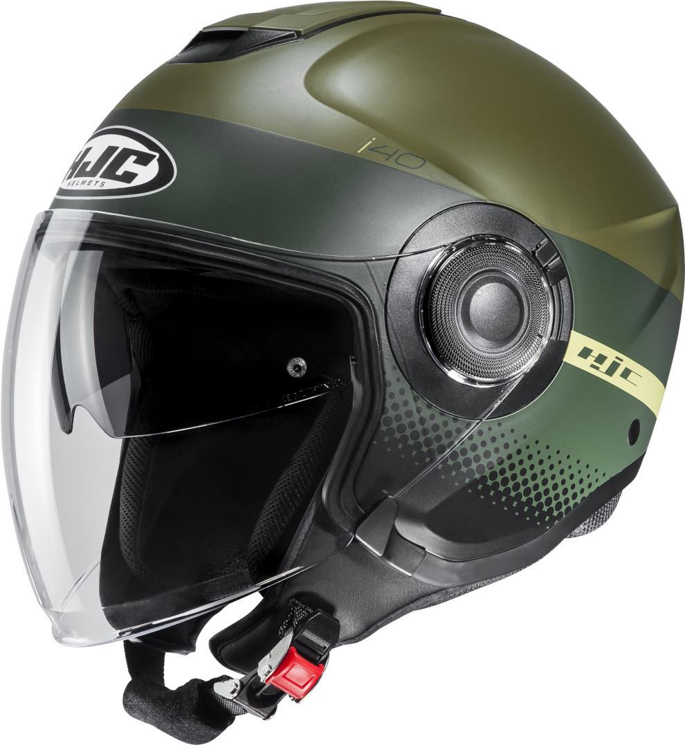 HJC i40 Unova Jethelm, grün, Größe S, grün, Größe S