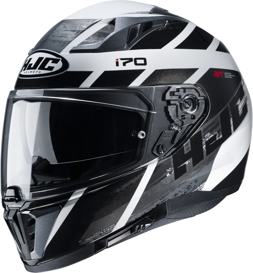 HJC i70 Reden Helm, schwarz-grau-weiss, Größe 2XL, schwarz-grau-weiss, Größe 2XL