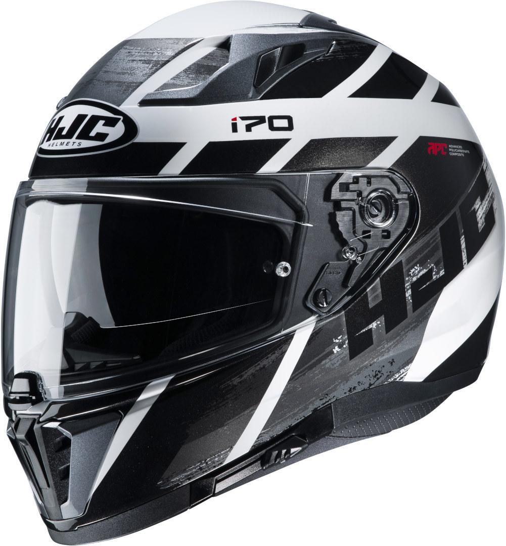 HJC i70 Reden Helm, schwarz-grau-weiss, Größe S, schwarz-grau-weiss, Größe S
